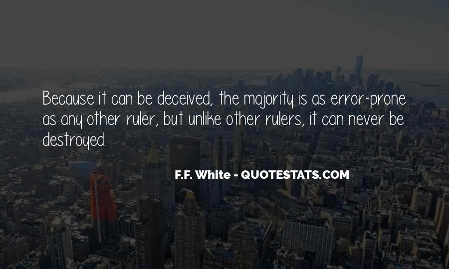 F.F. White Quotes #802406