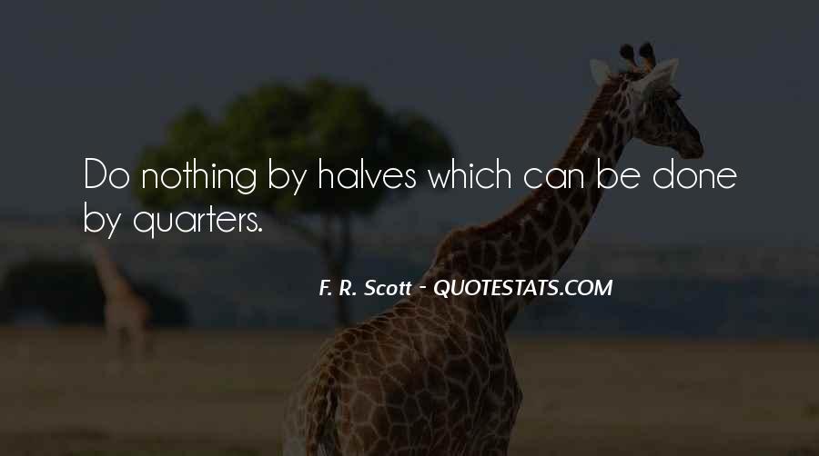 F. R. Scott Quotes #275039