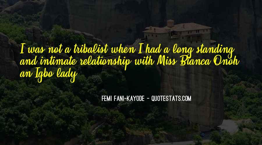 Femi Fani-Kayode Quotes #848349