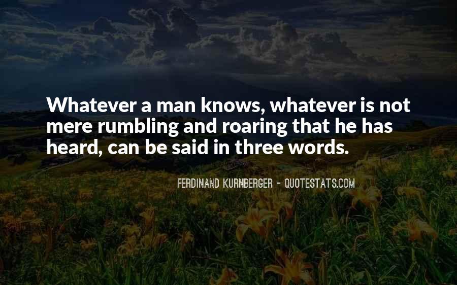Ferdinand Kurnberger Quotes #67274