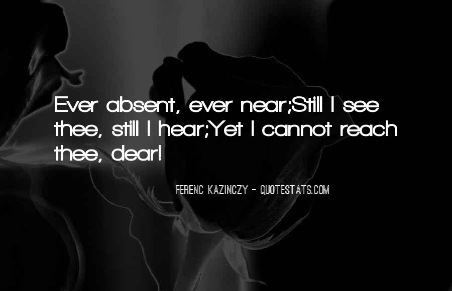 Ferenc Kazinczy Quotes #1250417