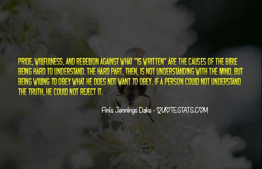 Finis Jennings Dake Quotes #1875490