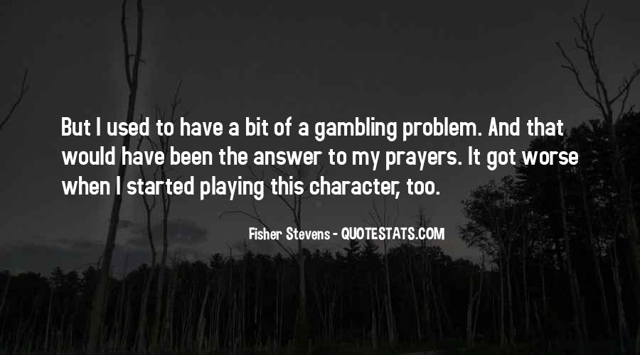 Fisher Stevens Quotes #928519