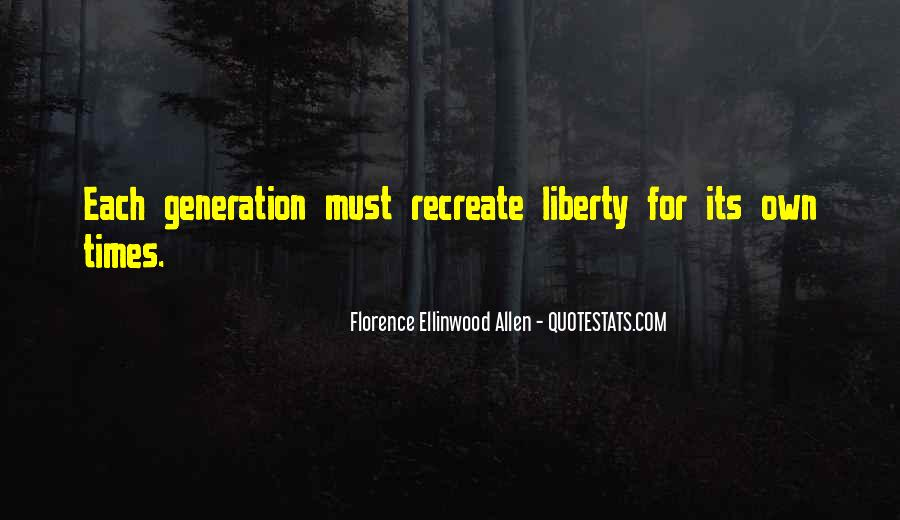 Florence Ellinwood Allen Quotes #1199022