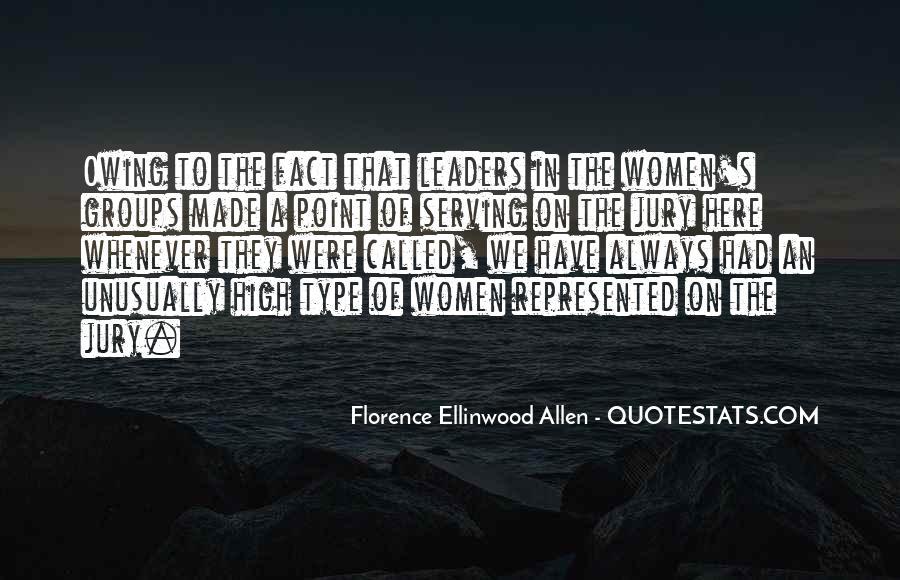 Florence Ellinwood Allen Quotes #1809325