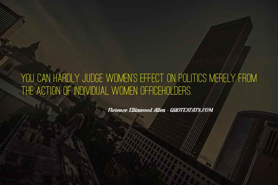 Florence Ellinwood Allen Quotes #429814