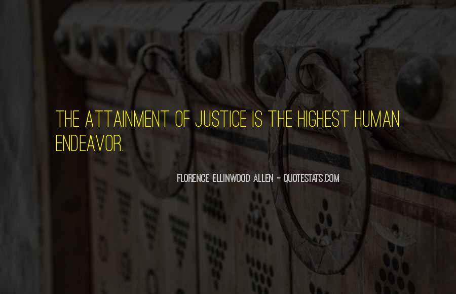 Florence Ellinwood Allen Quotes #468918