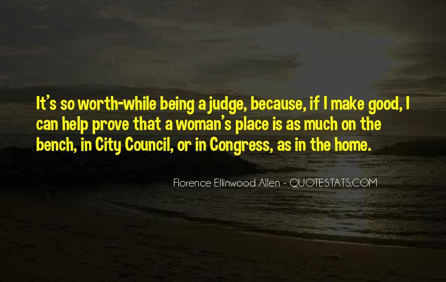 Florence Ellinwood Allen Quotes #889494