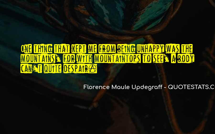 Florence Maule Updegraff Quotes #1222279