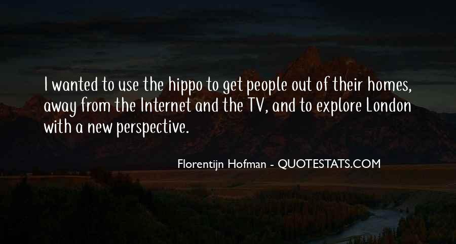 Florentijn Hofman Quotes #248050