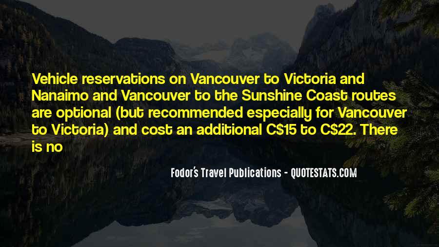 Fodor's Travel Publications Quotes #559572