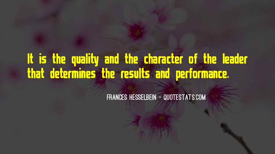 Frances Hesselbein Quotes #1285756