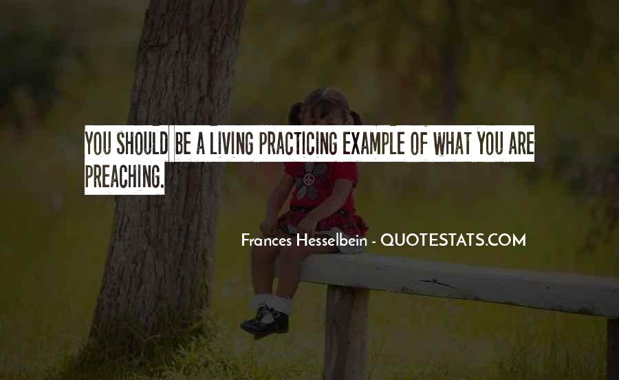 Frances Hesselbein Quotes #1307199
