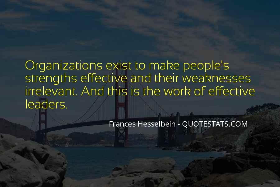 Frances Hesselbein Quotes #1820150