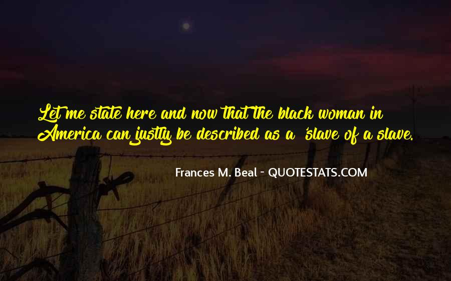 Frances M. Beal Quotes #999538