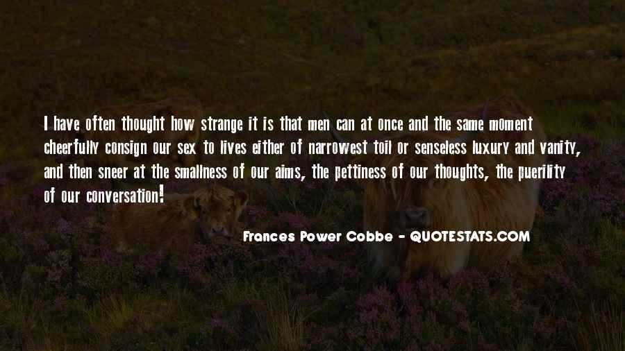 Frances Power Cobbe Quotes #1028811