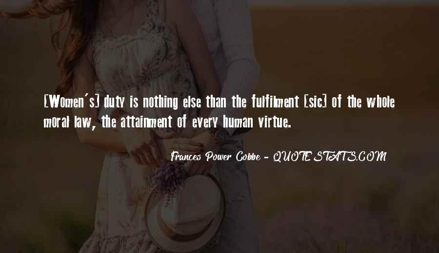 Frances Power Cobbe Quotes #1193377