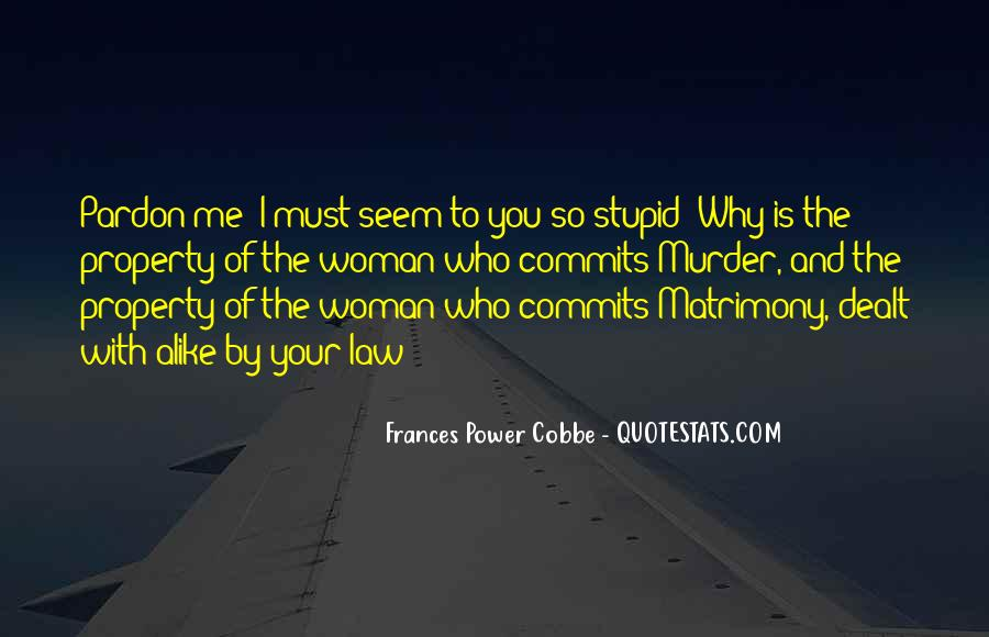 Frances Power Cobbe Quotes #1616436