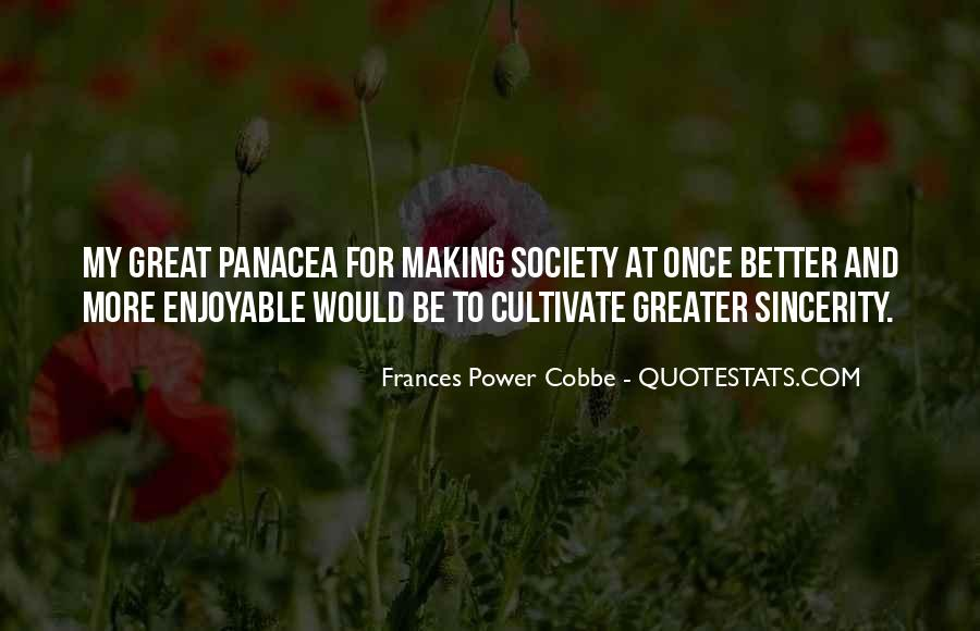 Frances Power Cobbe Quotes #861957