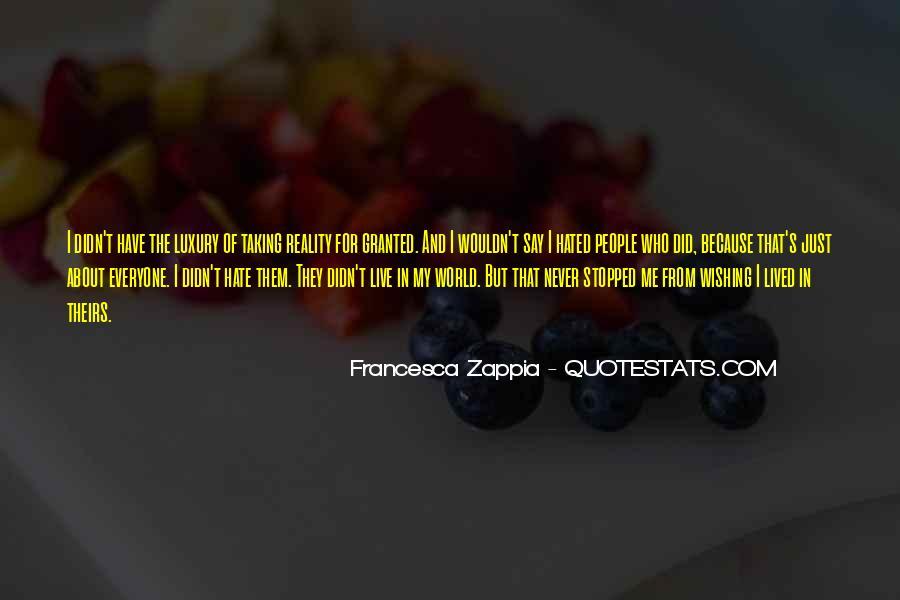 Francesca Zappia Quotes #243618