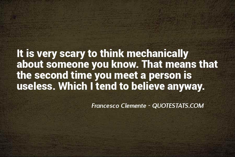 Francesco Clemente Quotes #517169