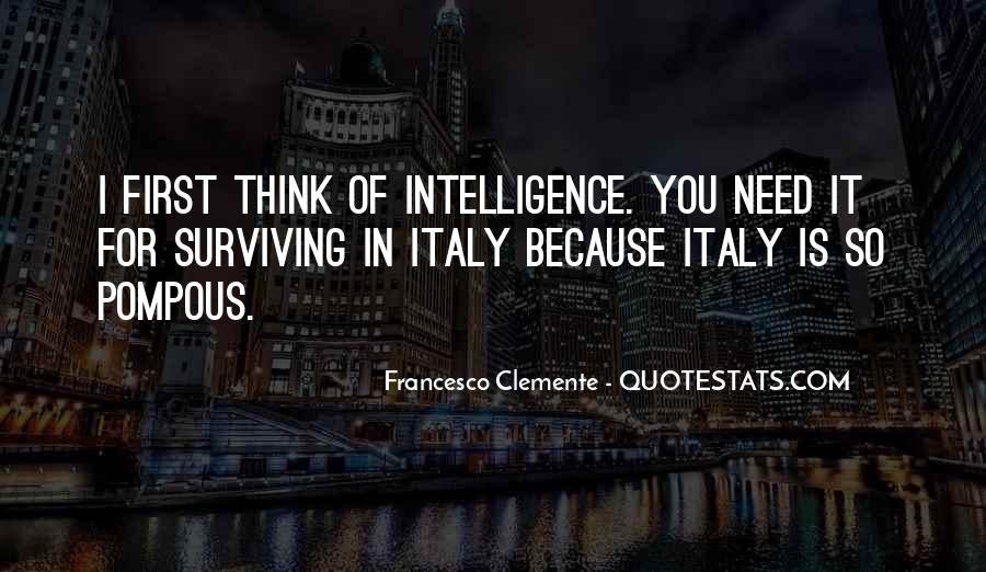 Francesco Clemente Quotes #545799