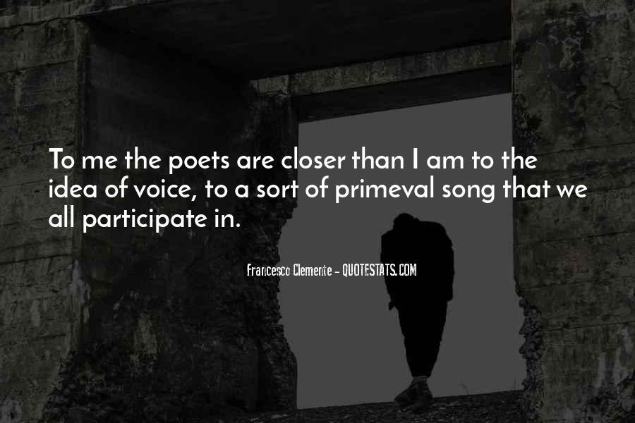 Francesco Clemente Quotes #868897