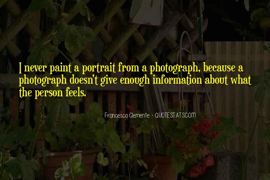 Francesco Clemente Quotes #874924