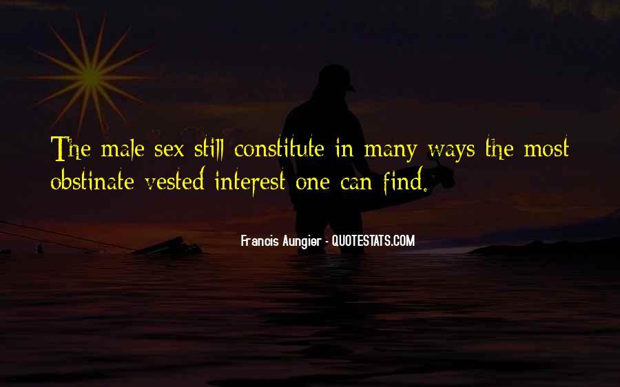 Francis Aungier Quotes #1537860
