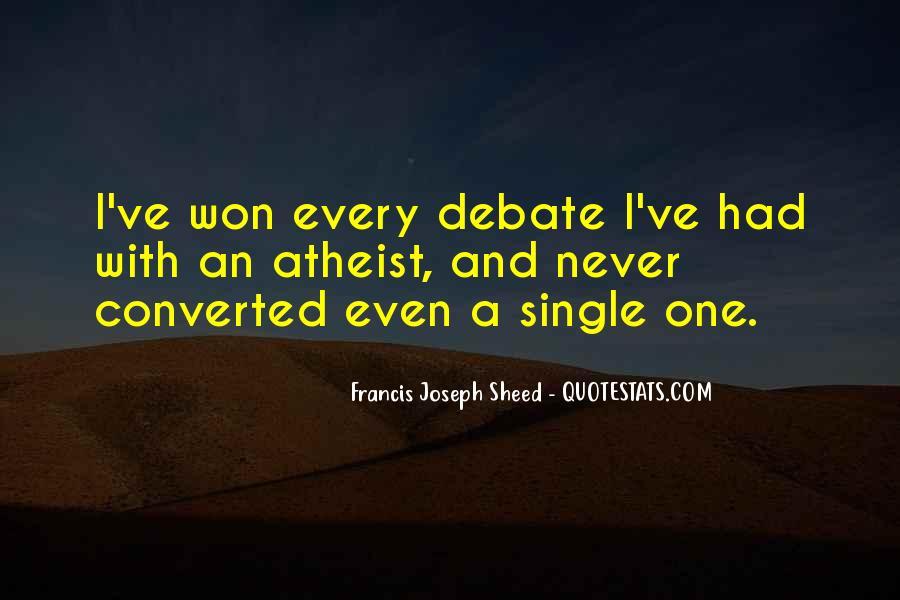 Francis Joseph Sheed Quotes #159339
