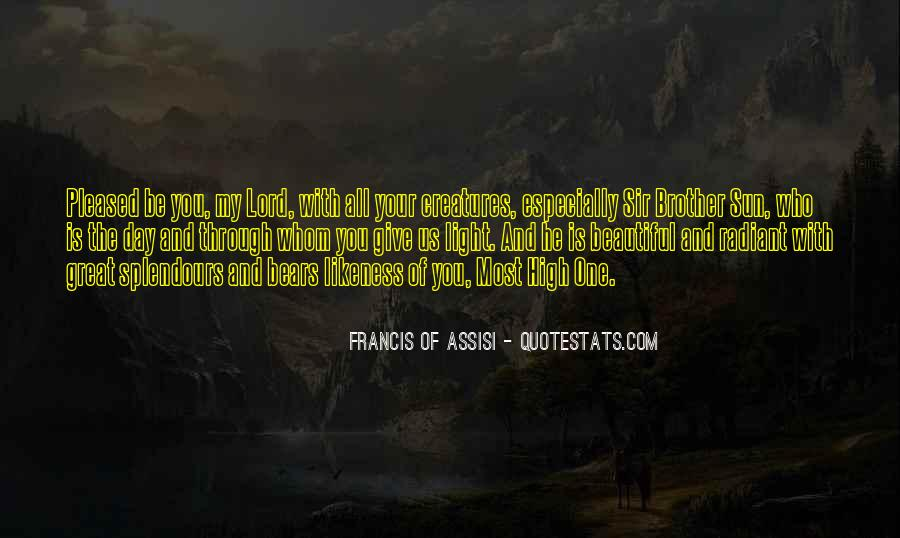Francis Of Assisi Quotes #253069