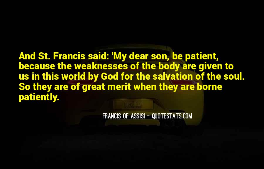 Francis Of Assisi Quotes #978189