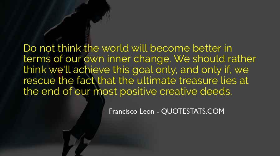 Francisco Leon Quotes #49823