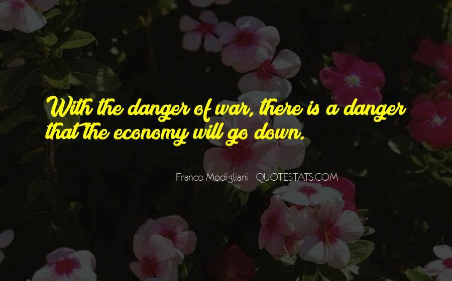 Franco Modigliani Quotes #1007242