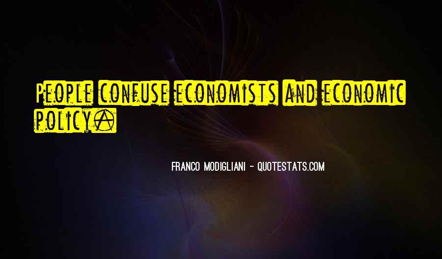 Franco Modigliani Quotes #1646402