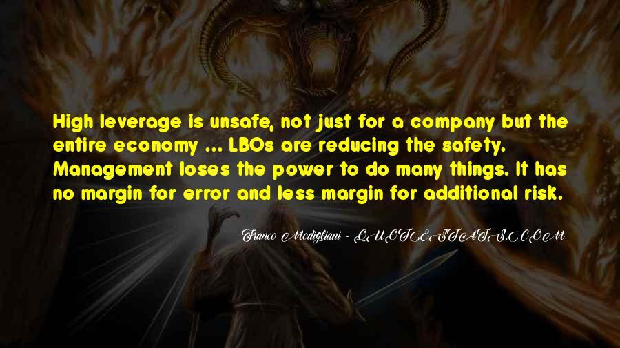 Franco Modigliani Quotes #982286