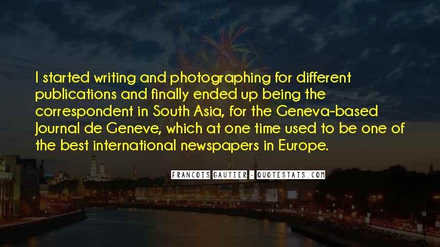 Francois Gautier Quotes #713238
