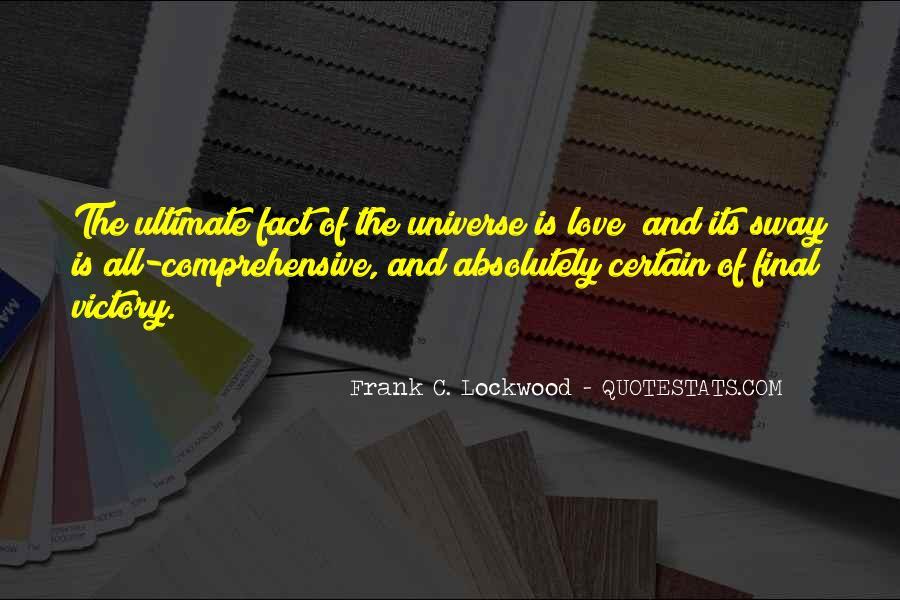 Frank C. Lockwood Quotes #10725