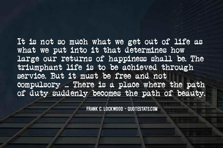 Frank C. Lockwood Quotes #268114