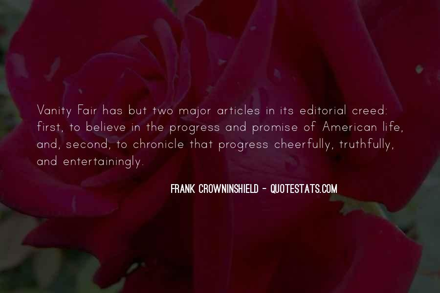 Frank Crowninshield Quotes #654812