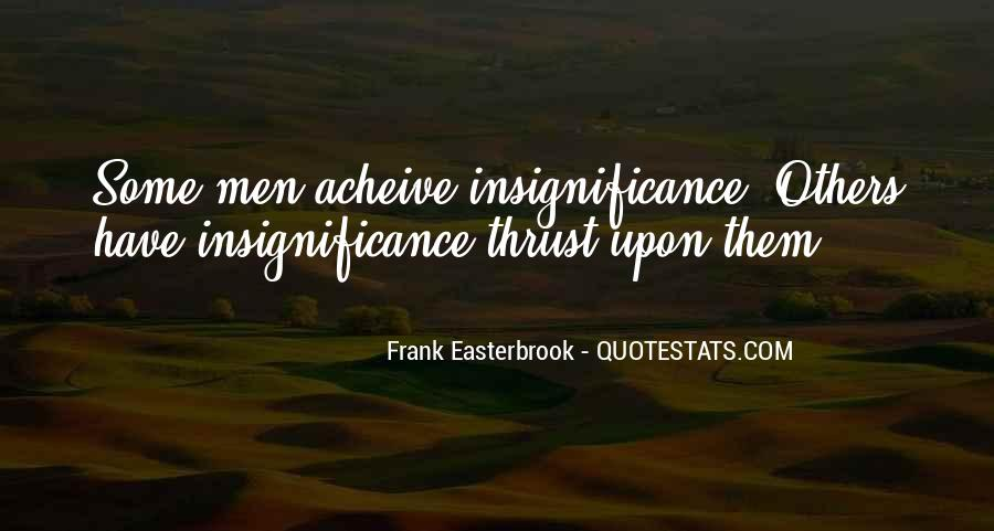 Frank Easterbrook Quotes #1847484
