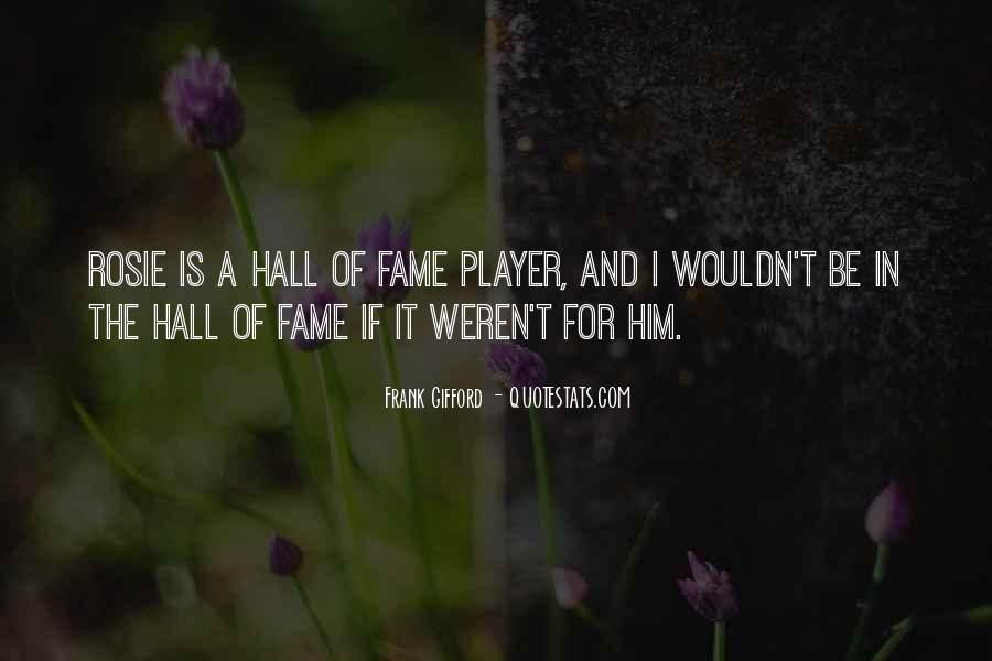 Frank Gifford Quotes #1009267