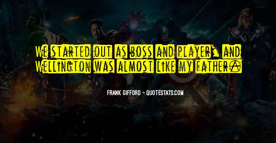 Frank Gifford Quotes #913488