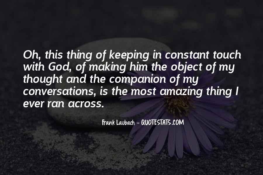Frank Laubach Quotes #914374