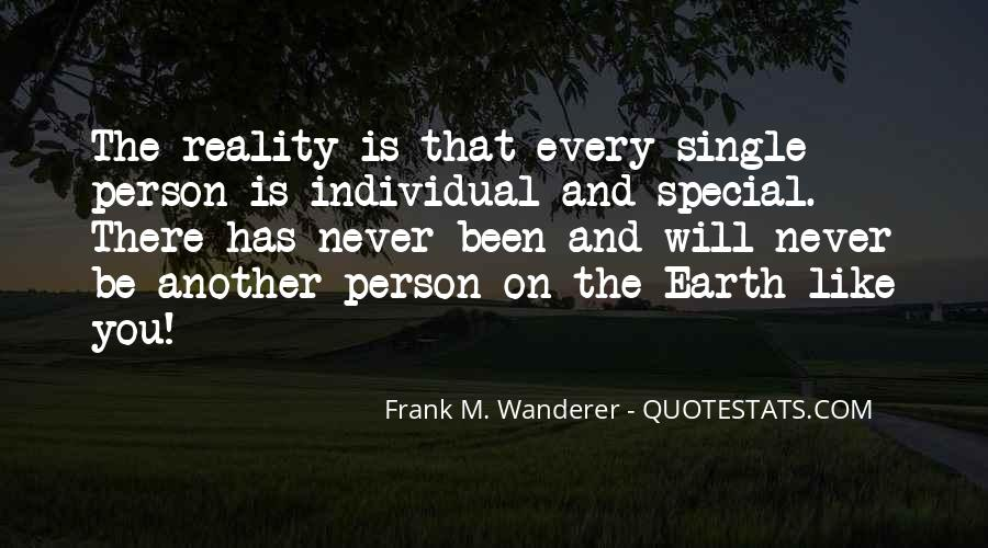 Frank M. Wanderer Quotes #1020080