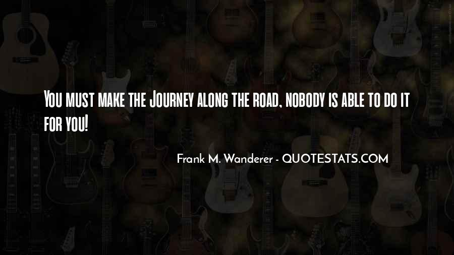 Frank M. Wanderer Quotes #189458