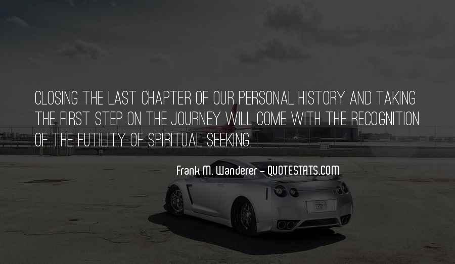 Frank M. Wanderer Quotes #514666