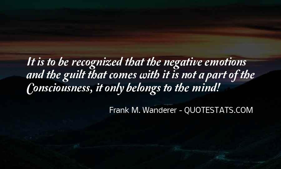 Frank M. Wanderer Quotes #547660