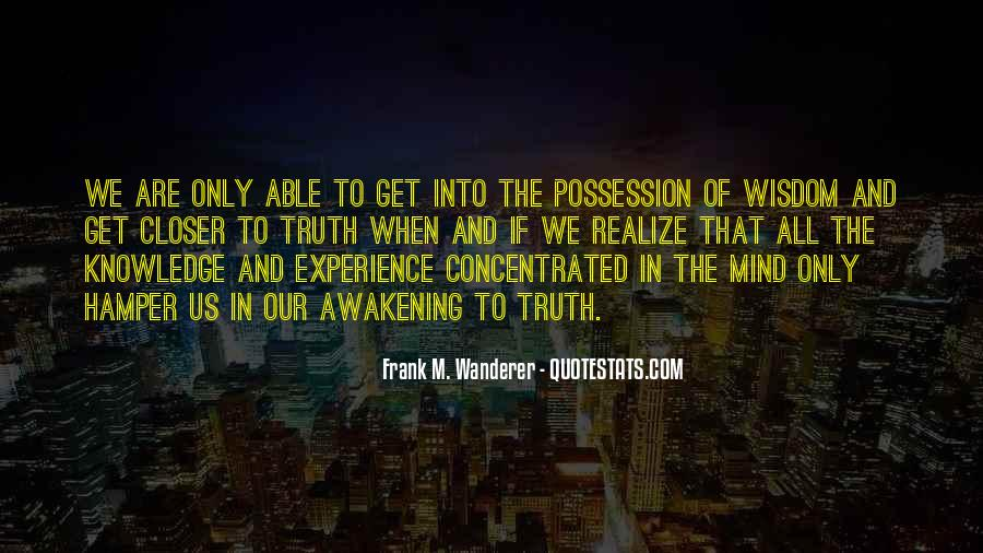 Frank M. Wanderer Quotes #82843
