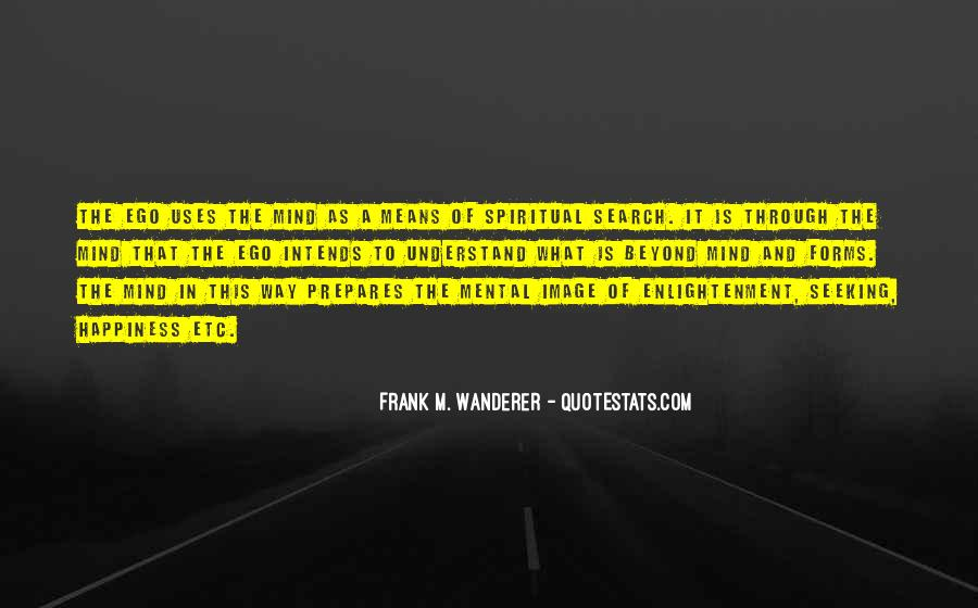 Frank M. Wanderer Quotes #930439